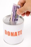 Donation Box Stock Image