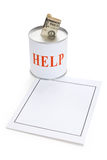 Donation Box Stock Photography