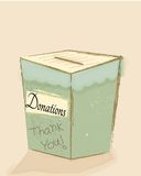 Donation Box Stock Image