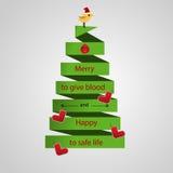 Donation de sang Images stock