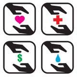 Donation Icon Concept