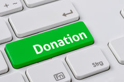 Donation Royalty Free Stock Photos