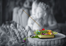 Donation to the gods. Indonesia, Bali Royalty Free Stock Image