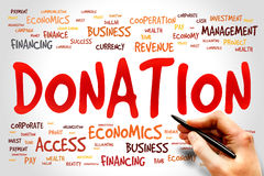DONATION Stock Images