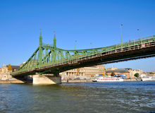 Donau bridge Royalty Free Stock Images