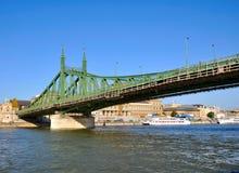 Donau bridge royalty free stock images