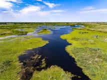 Donau-Delta Rumänien lizenzfreie stockbilder