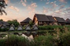 Donau delta-Sf Gheorghe Royalty-vrije Stock Foto's