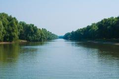 Donau-Dreieck lizenzfreies stockfoto