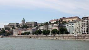 Donau-Flussufer Budapest Stockbilder