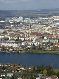donau foregro rzeki Vienna przeglądu Fotografia Royalty Free
