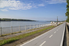 Donau-Gasse in Vidin Lizenzfreie Stockfotografie