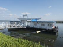 Donau-Hafen, Drobeta-Turnu Severin, Rumänien lizenzfreie stockfotos