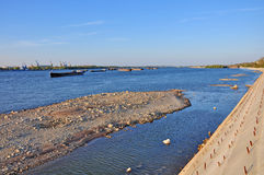 Donau-Landschaften Stockbild