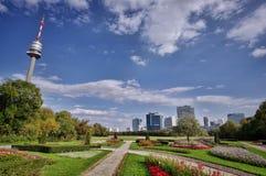 Donau Park Lizenzfreie Stockfotos