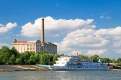 Donau-Reiseflug lizenzfreies stockfoto