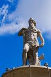 Donau-Skulptur, Budapest Lizenzfreies Stockfoto