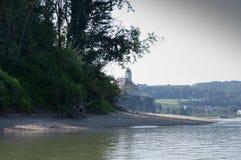 Donau-Strand Stockbild