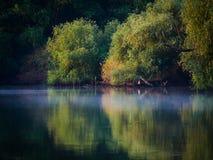 Donaudelta, Tulcea, Rumänien Fotografering för Bildbyråer