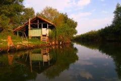 Donaudeltalandskap Royaltyfri Fotografi