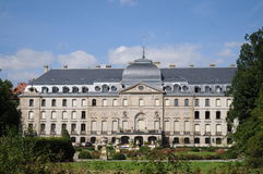 Donaueschingen Castle. Is privately owned and only on a very few days in the year open for a guided tour. It was redesigned in the style of the belle eqoque Stock Photos