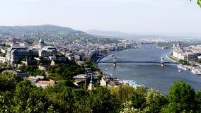 Donaugränser Arkivbild