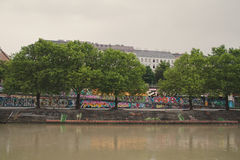 Donaukanal Royalty Free Stock Photos