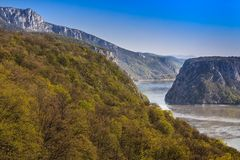 Donauklyftorna Arkivbilder