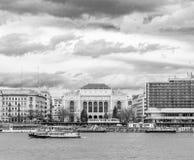 Donaukrökning Arkivfoton
