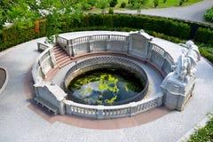 Donauquelle в Donaueschingen, Германии стоковые изображения
