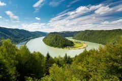 Donauschlinge, Schloegener landscape Royalty Free Stock Image