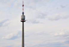 Donauturm, de toren van Donau Royalty-vrije Stock Foto