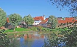 Donauwoerth,romantic Road,Germany Stock Image
