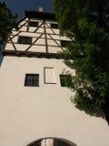 Donauworth,一个典型的巴法力亚城市在德国 免版税图库摄影
