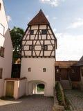 Donauworth, una città bavarese tipica in Germania Immagine Stock Libera da Diritti