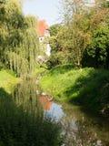 Donauworth, una città bavarese tipica in Germania Fotografie Stock