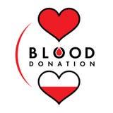 Donazione di sangue Fotografia Stock Libera da Diritti