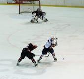 donbass曲棍球冰哈尔科夫符合 免版税库存照片