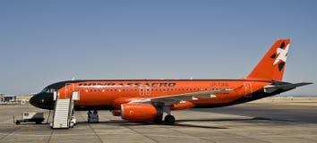 Donbass aero-, Airbus 320 Fotografía de archivo libre de regalías