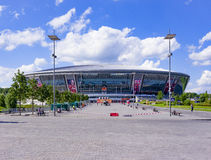 Donbass Arena stockbilder