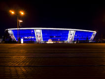 Donbass Arena Fotografia Royalty Free