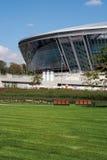 Donbass Arena: Bereiten Sie für EURO 2012 vor Stockfotografie