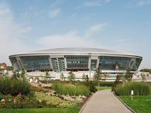Donbass-Arena dello stadio, Donetsk Immagine Stock