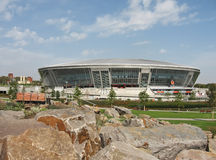 Donbass-Arena dello stadio, Donetsk   Fotografia Stock