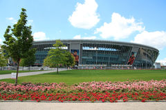Donbass-Arena - football stadium on June 26, 2013 in Donetsk, Ukraine. Royalty Free Stock Photo