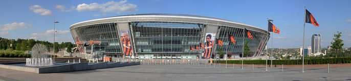 Donbass Arena Royalty Free Stock Image