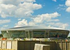 Donbass-arena stadion Fotografering för Bildbyråer