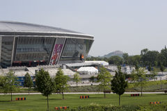 Donbass Arena stadium stock images