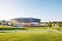 Donbass Arena stadium in Donetsk, Ukraine Royalty Free Stock Images