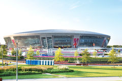 Donbass Arena stadium in Donetsk, Ukraine Royalty Free Stock Photo